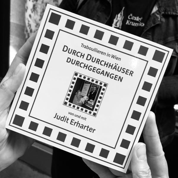 Buchcover Traboullieren in Wien - Durch Durchhäuser durchgegangen von und mit Judit Erharter
