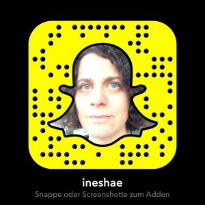 Snapcode ineshae von Ines Häusler